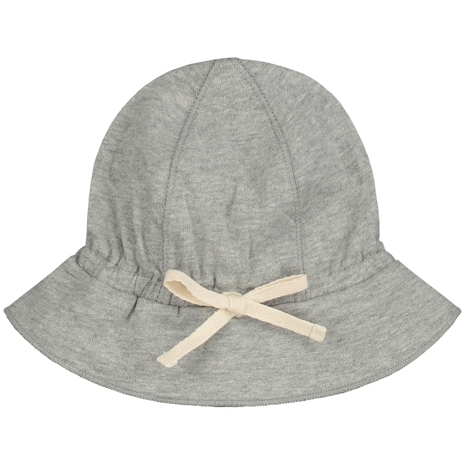 gray label baby sun hat heather grey