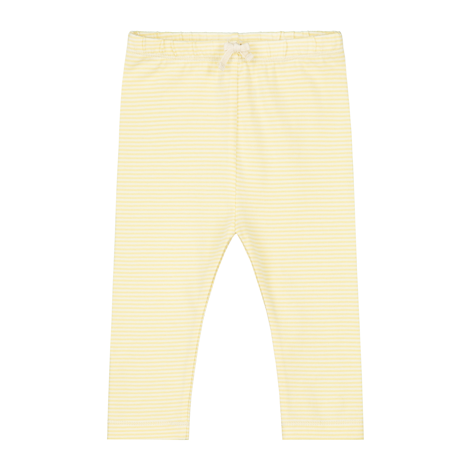 gray label baby leggings mellow yellow cream