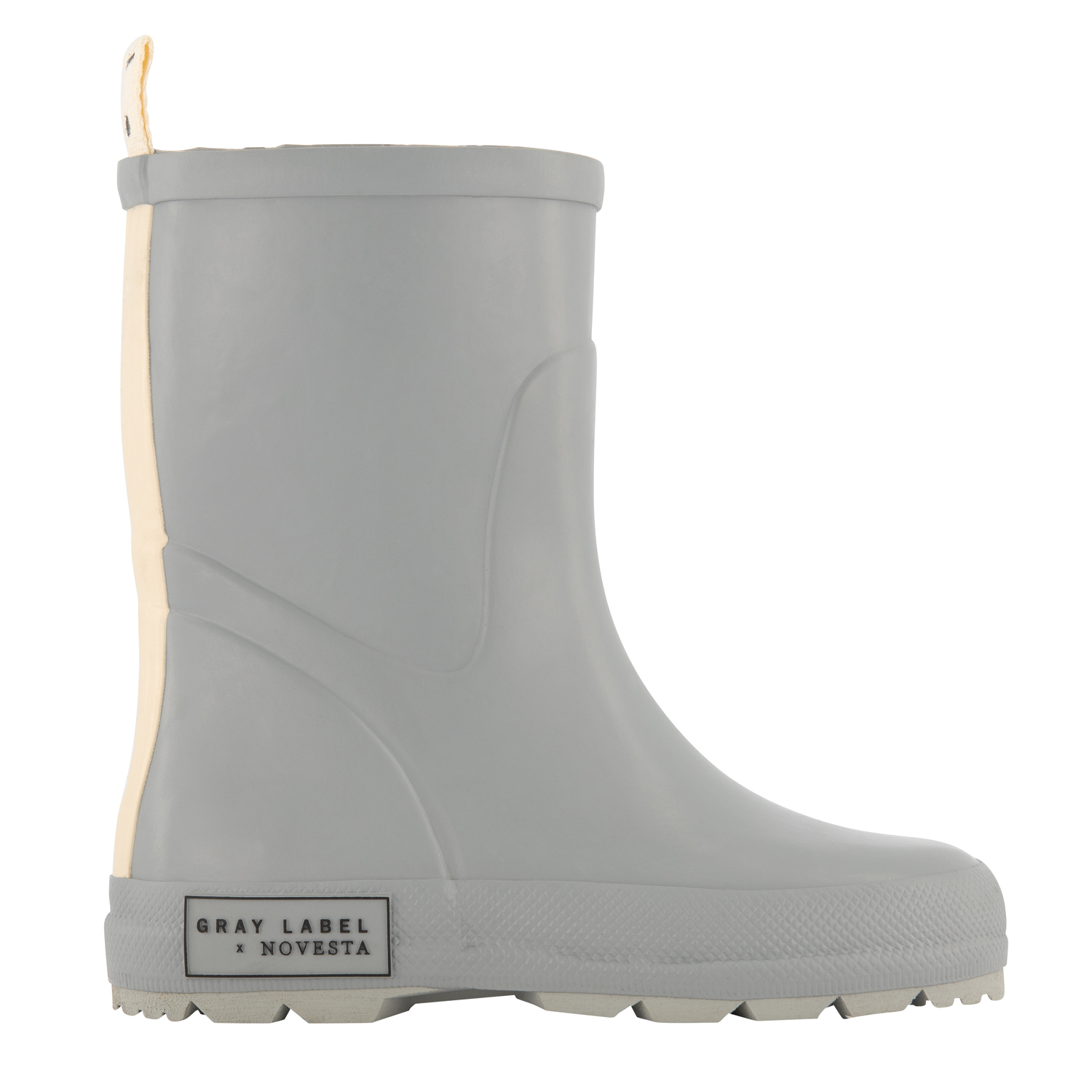 gray label x novesta rain boots grey