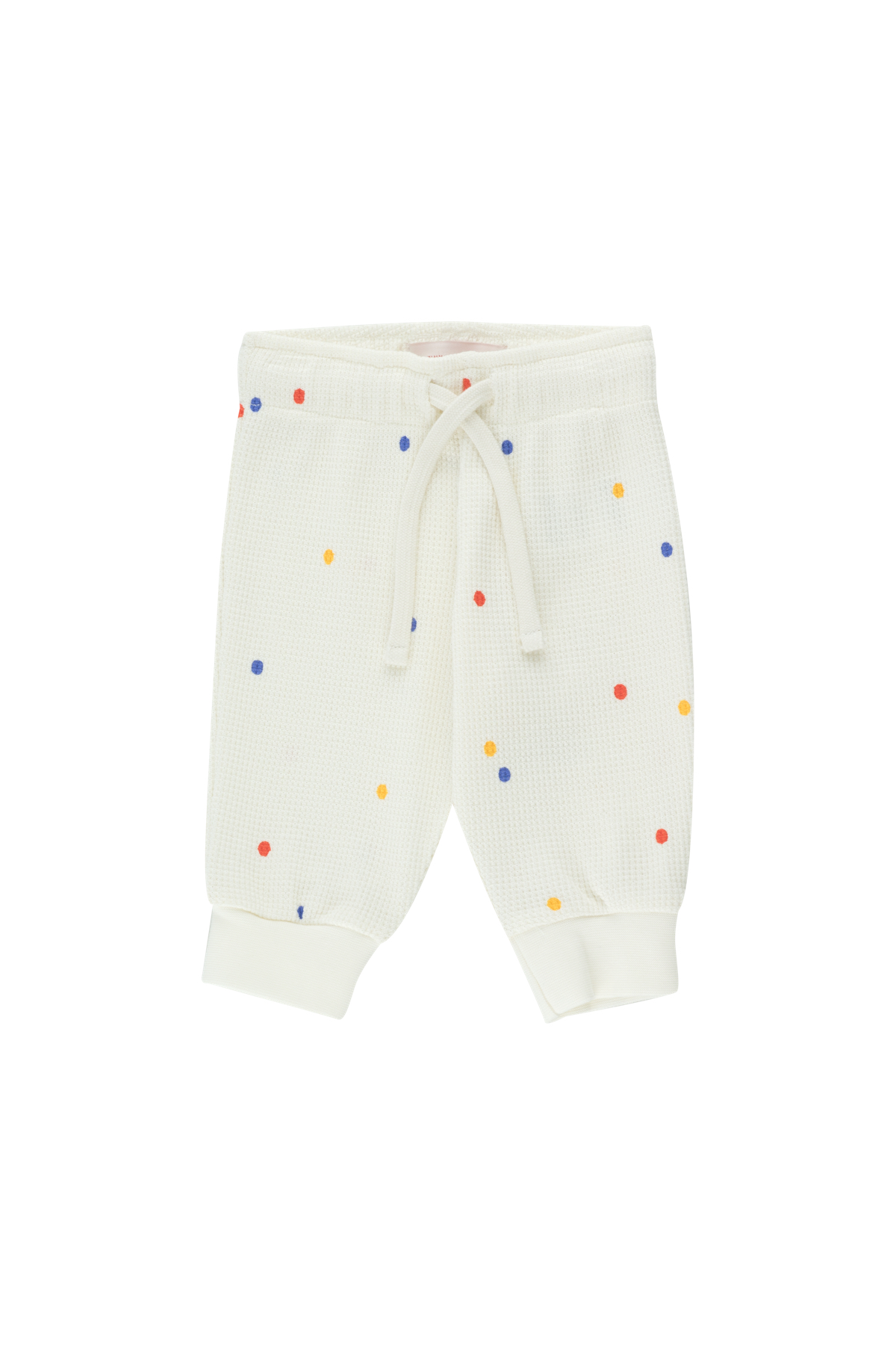 tinycottons ice cream dots baby sweatpant off white