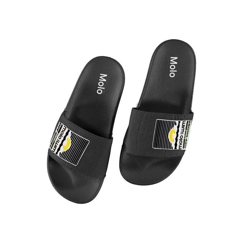 molo zhappy flip flops black