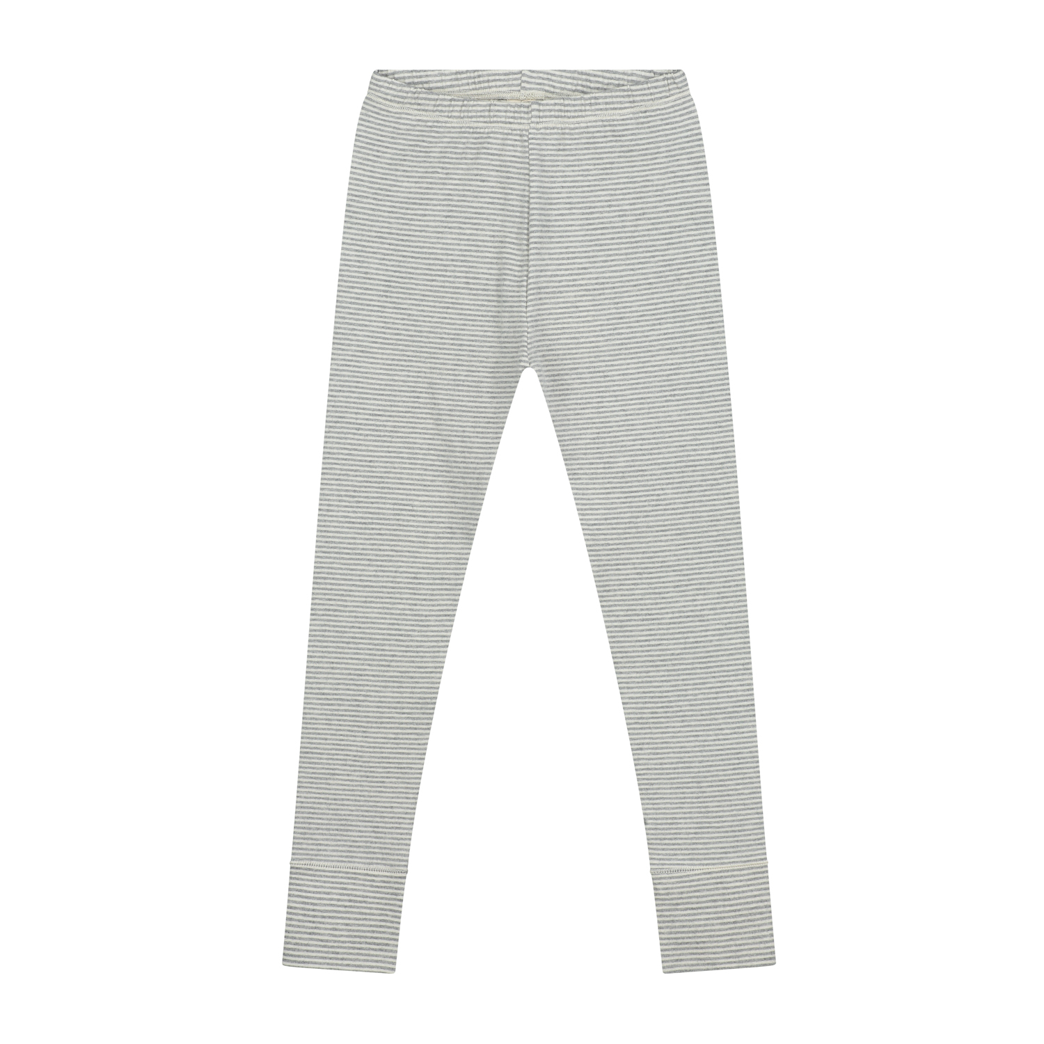 gray label leggings grey melange cream stripe