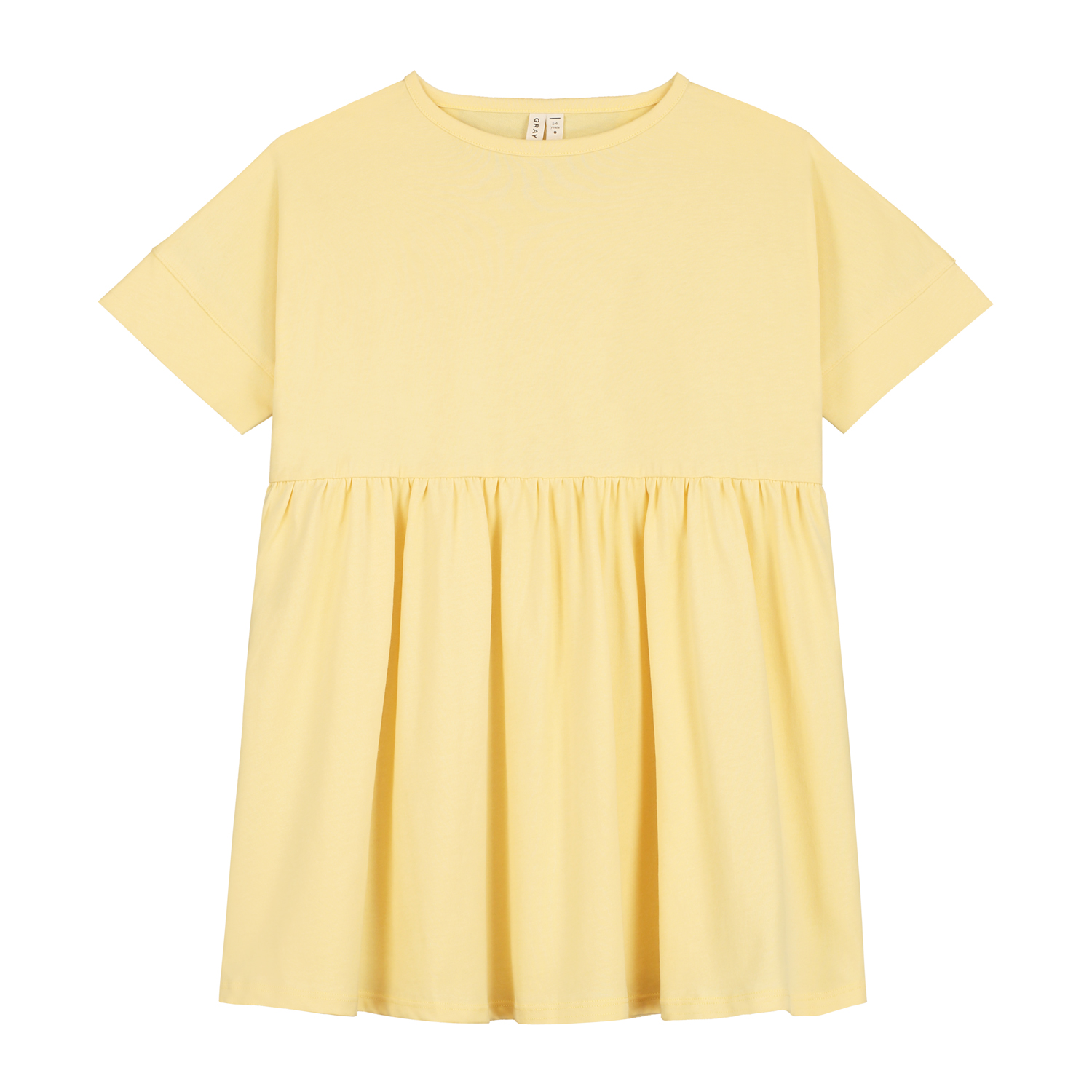 gray label loose fit dress mellow yellow