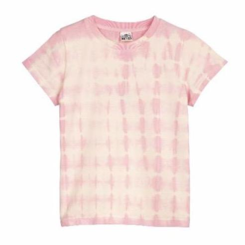 bonton t-shirt tie dye rose