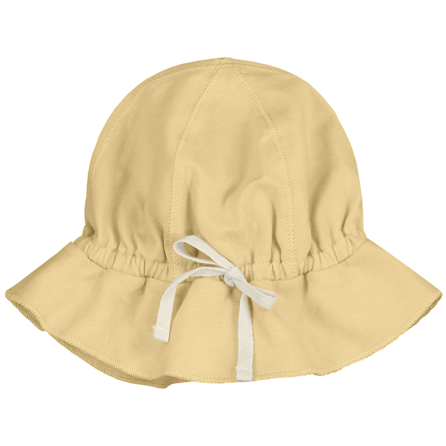 gray label baby sun hat mellow yellow