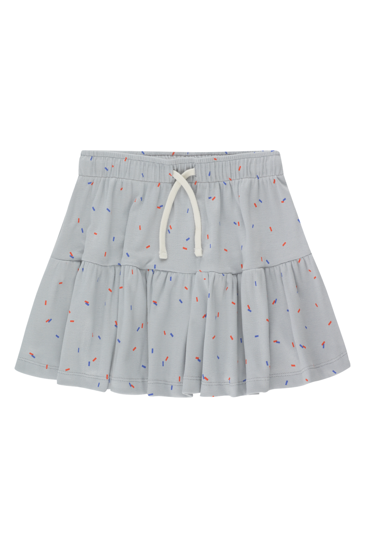tinycottons sticks short skirt pale grey