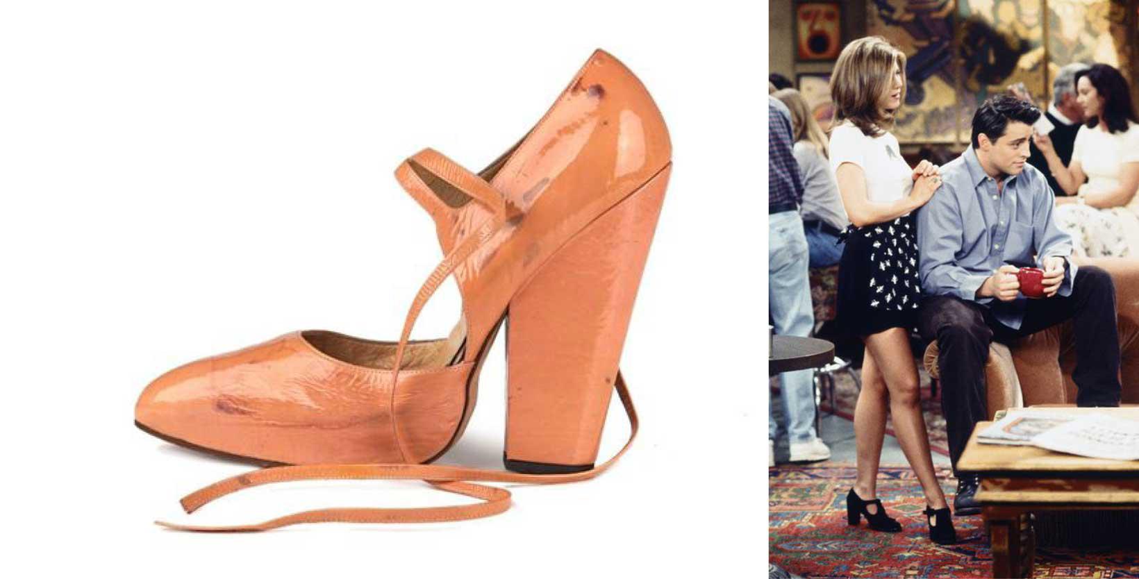 Chunky (bulky) heels - 1990s women shoes