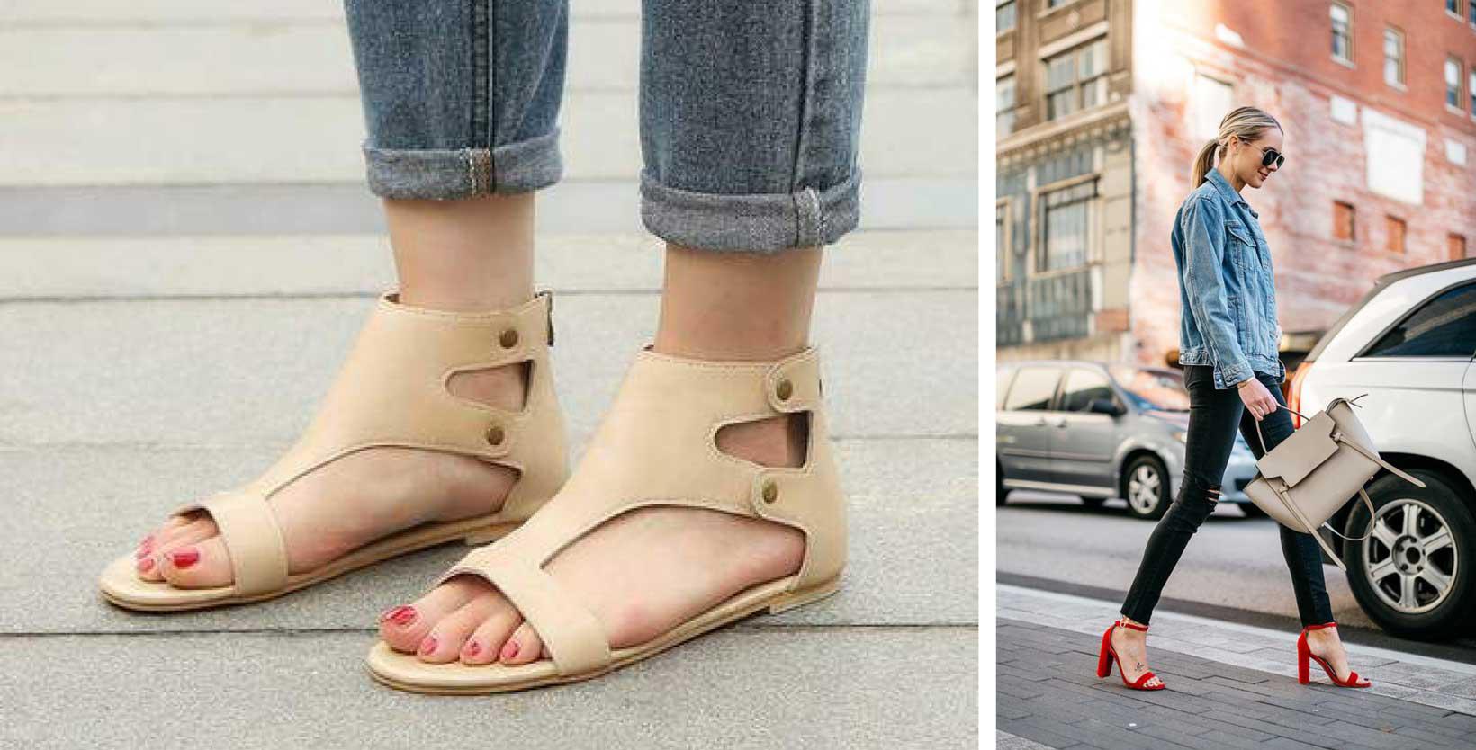 Sandals - 2010s women shoes