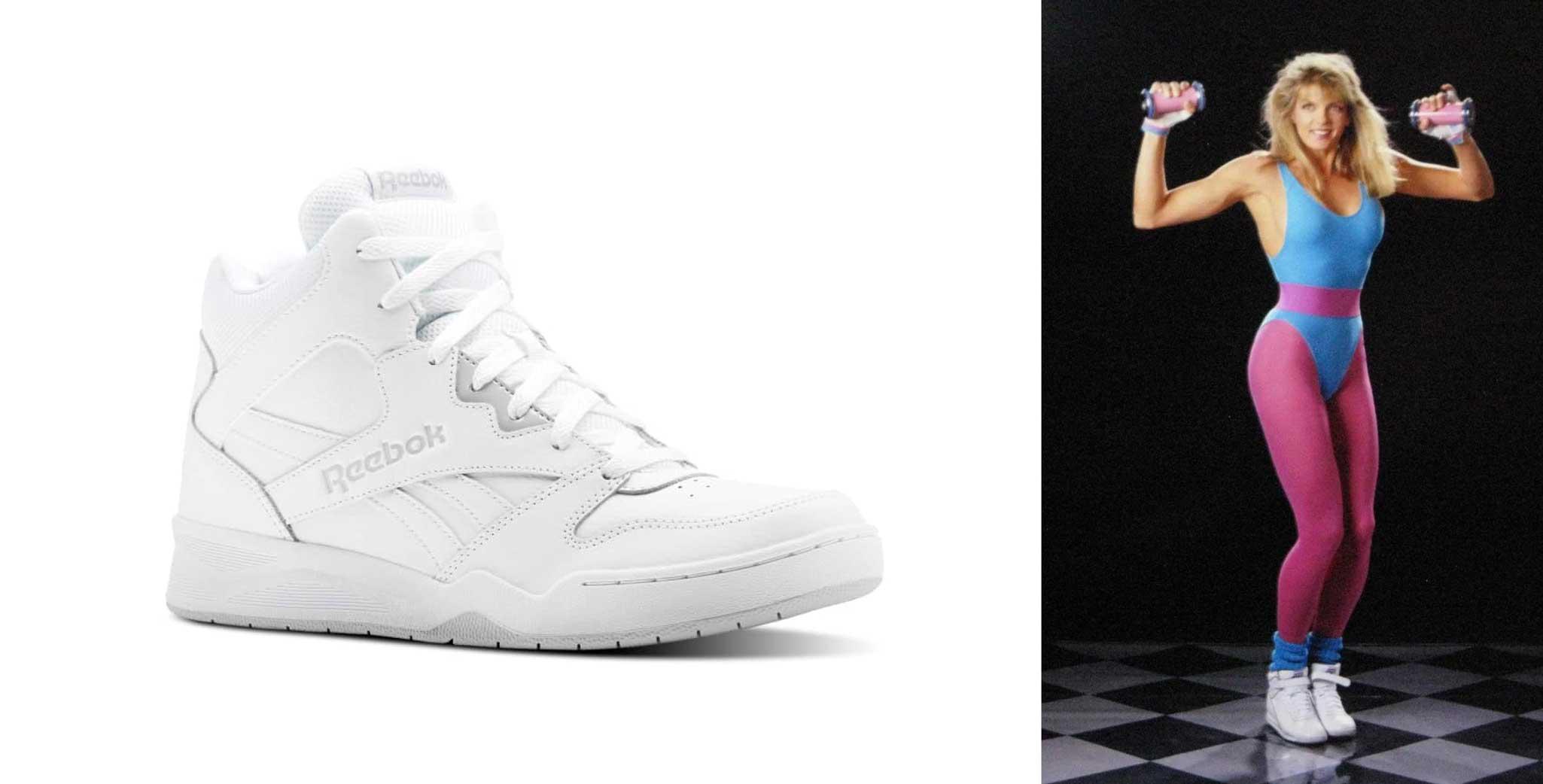 Sneakers - 1980s women shoes