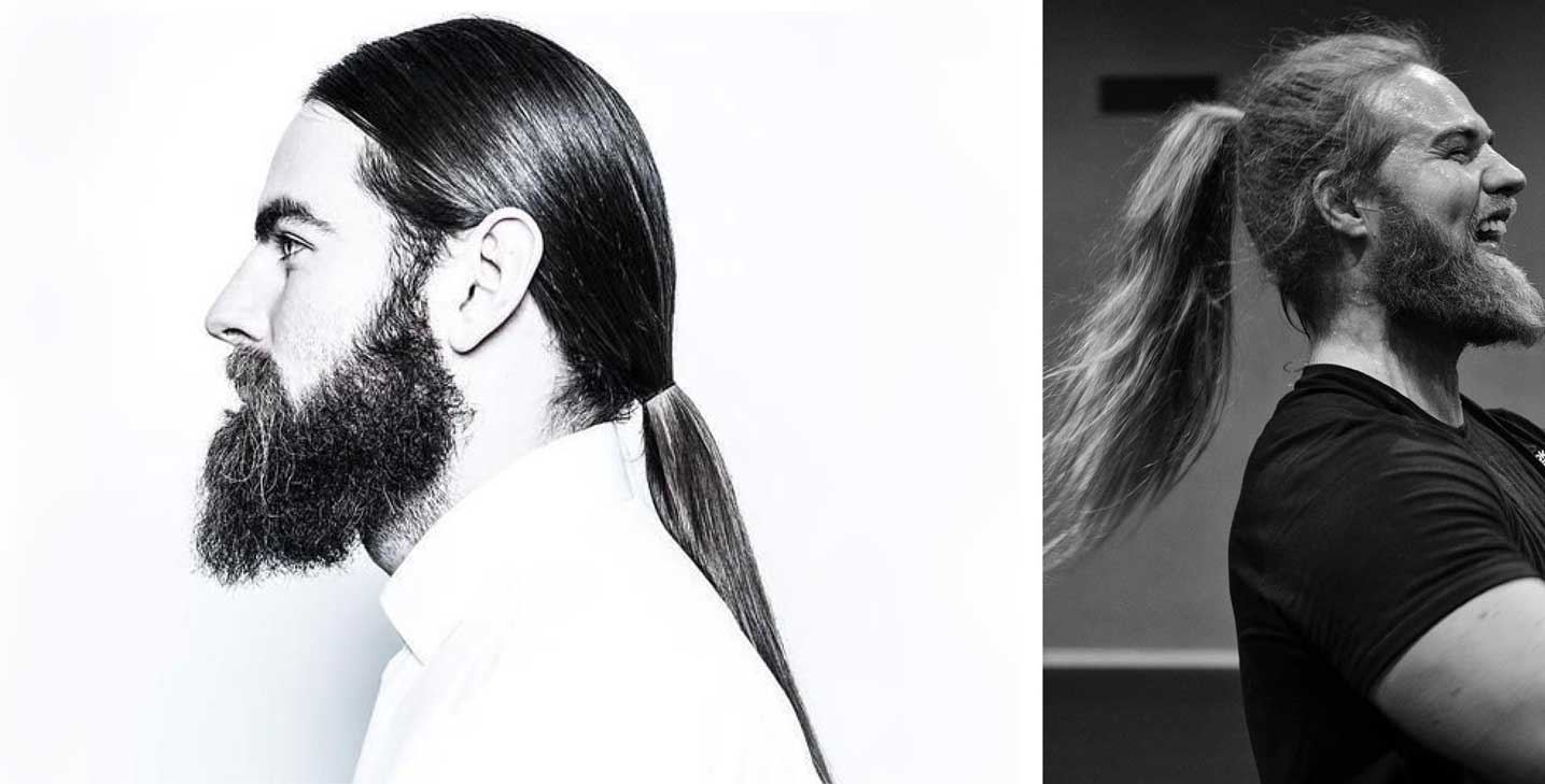 Ponytails - 2021 men's hairstyle