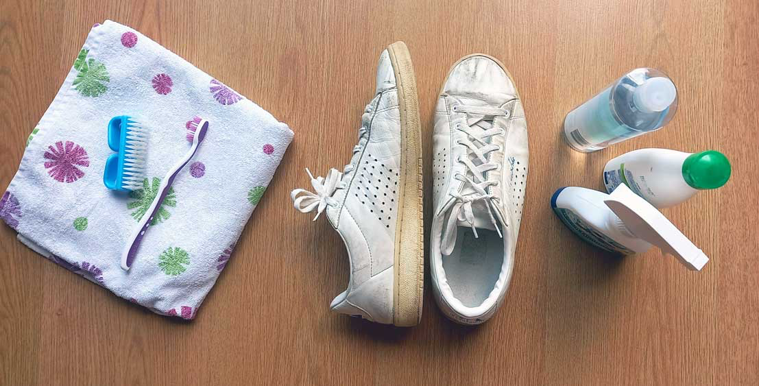 Clean your shoes and socks