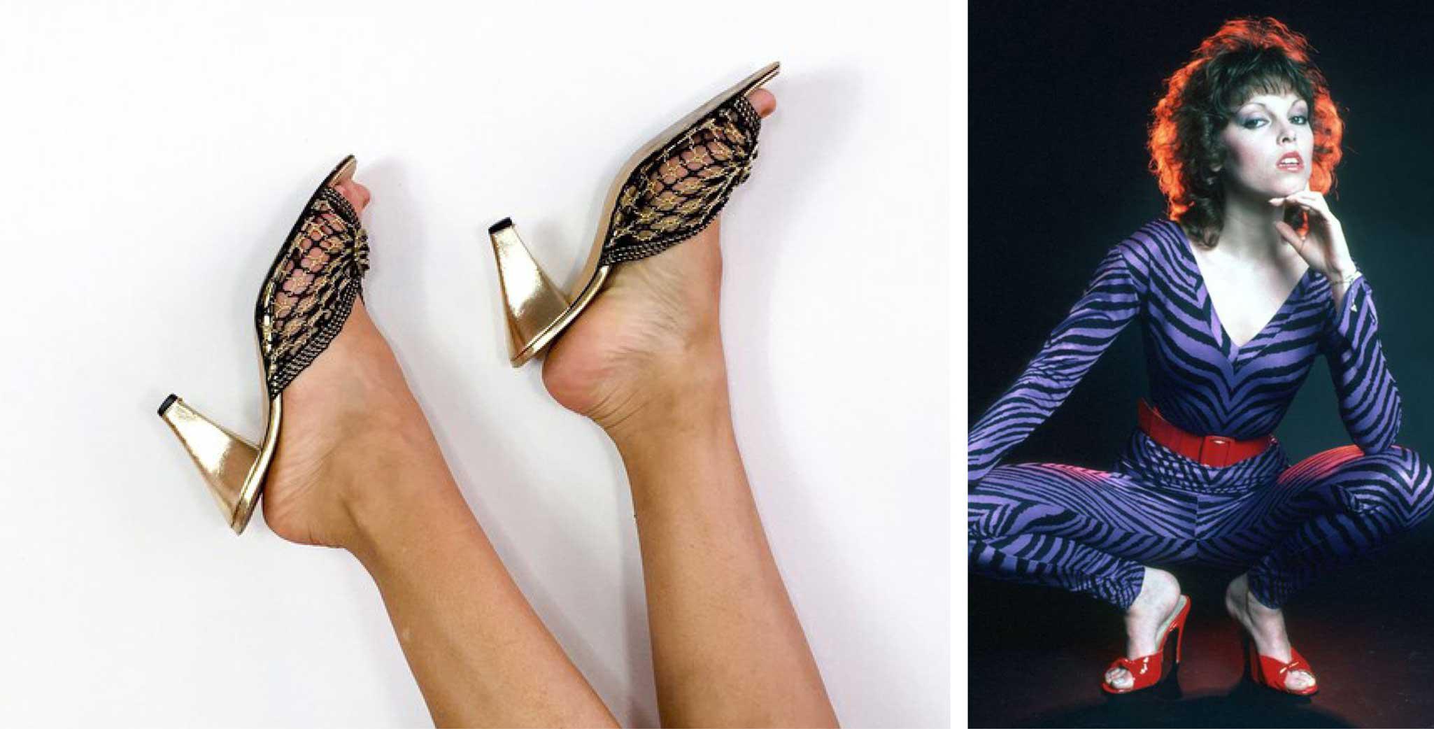 Mules - 1980s women shoes