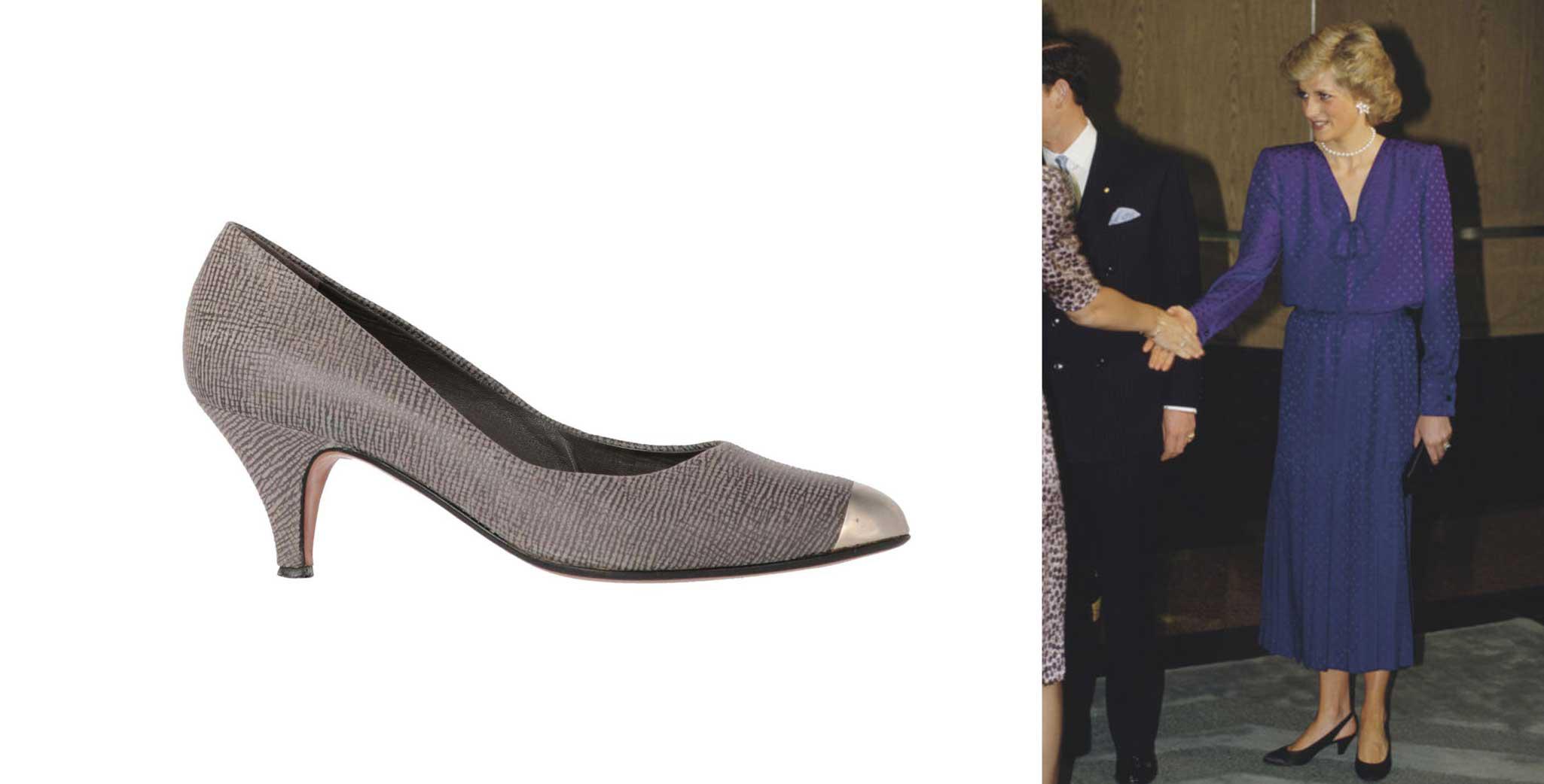 Cone heels - 1980s women shoes