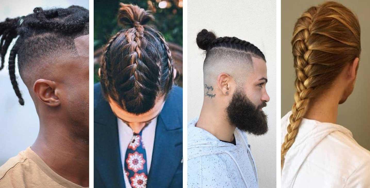 Braids - 2021 men's hairstyle