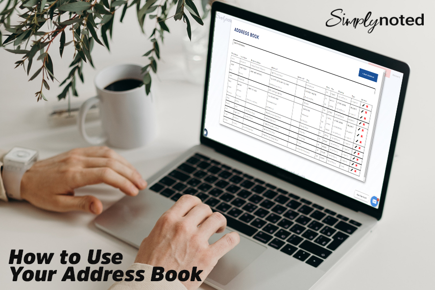 How to Use Your Address Book
