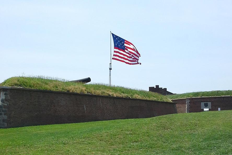 Flag over Fort Sumter