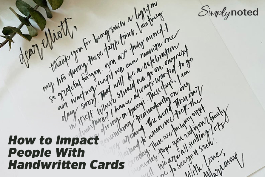 How to Impact People With Handwritten Cards