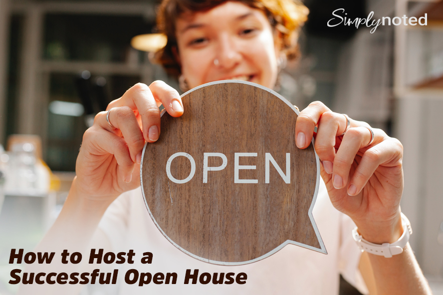 How to Host a Successful Open House