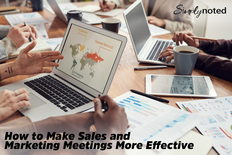 How to Make Sales and Marketing Meetings More Effective