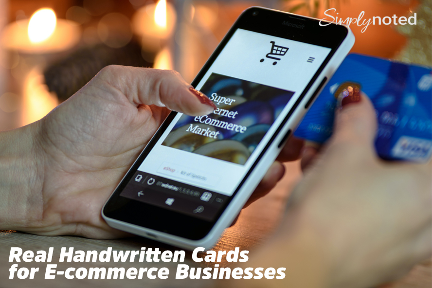 Real Handwritten Cards for E-commerce Businesses