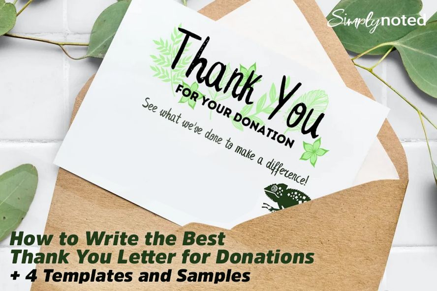 How to Write the Best Thank You Letter for Donations + 4 Templates and Samples