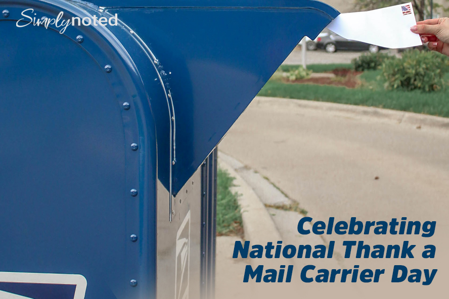 Celebrating National Thank a Mail Carrier Day