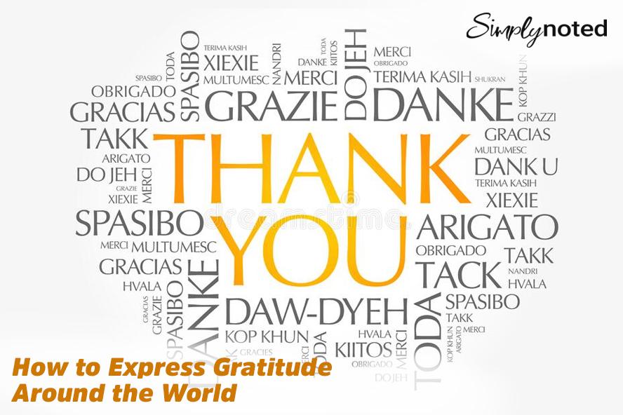 How to Express Gratitude Around the World