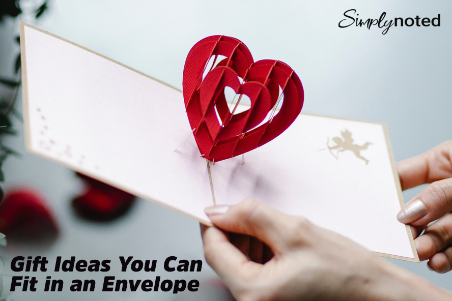 Gift Ideas You Can Fit in an Envelope
