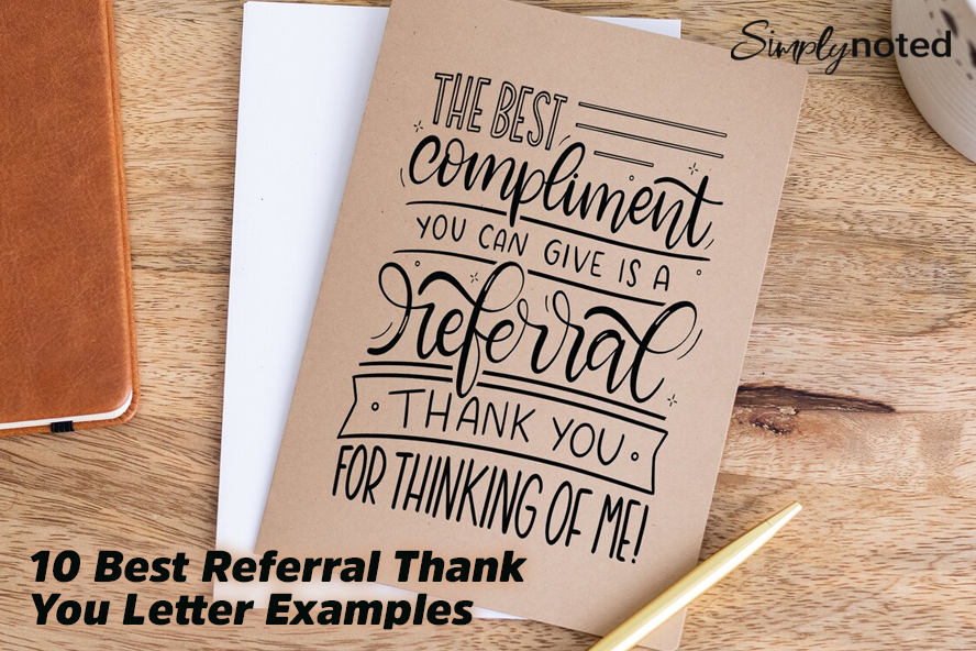 10 Best Referral Thank You Letter Examples