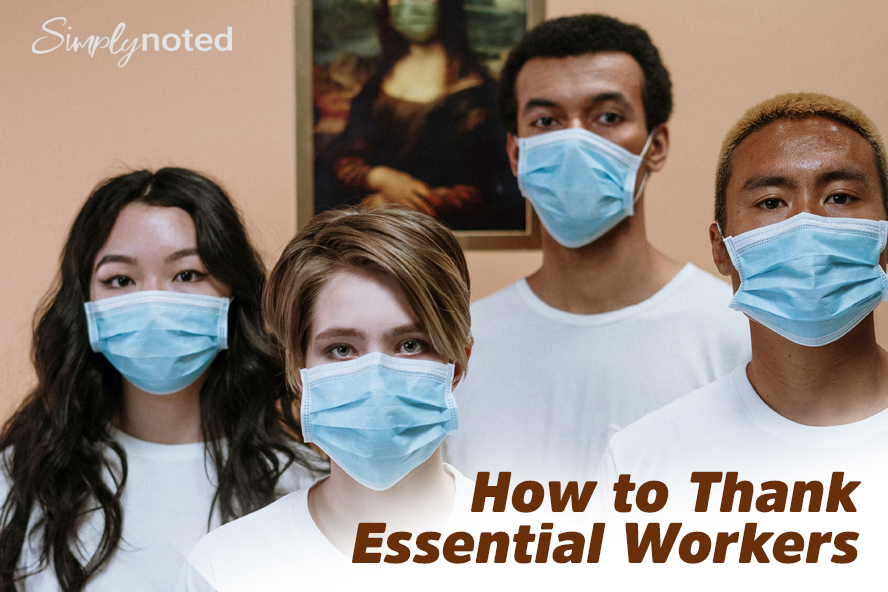 How to Thank Essential Workers
