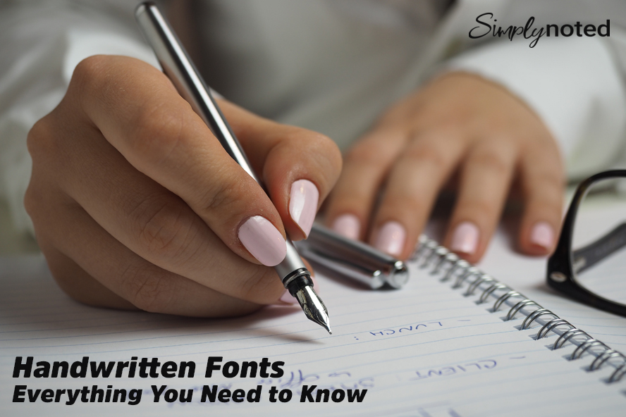 Handwritten Fonts - Everything You Need to Know
