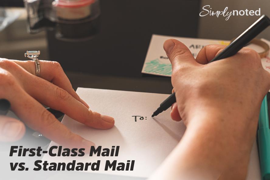 First-Class Mail vs. Standard Mail