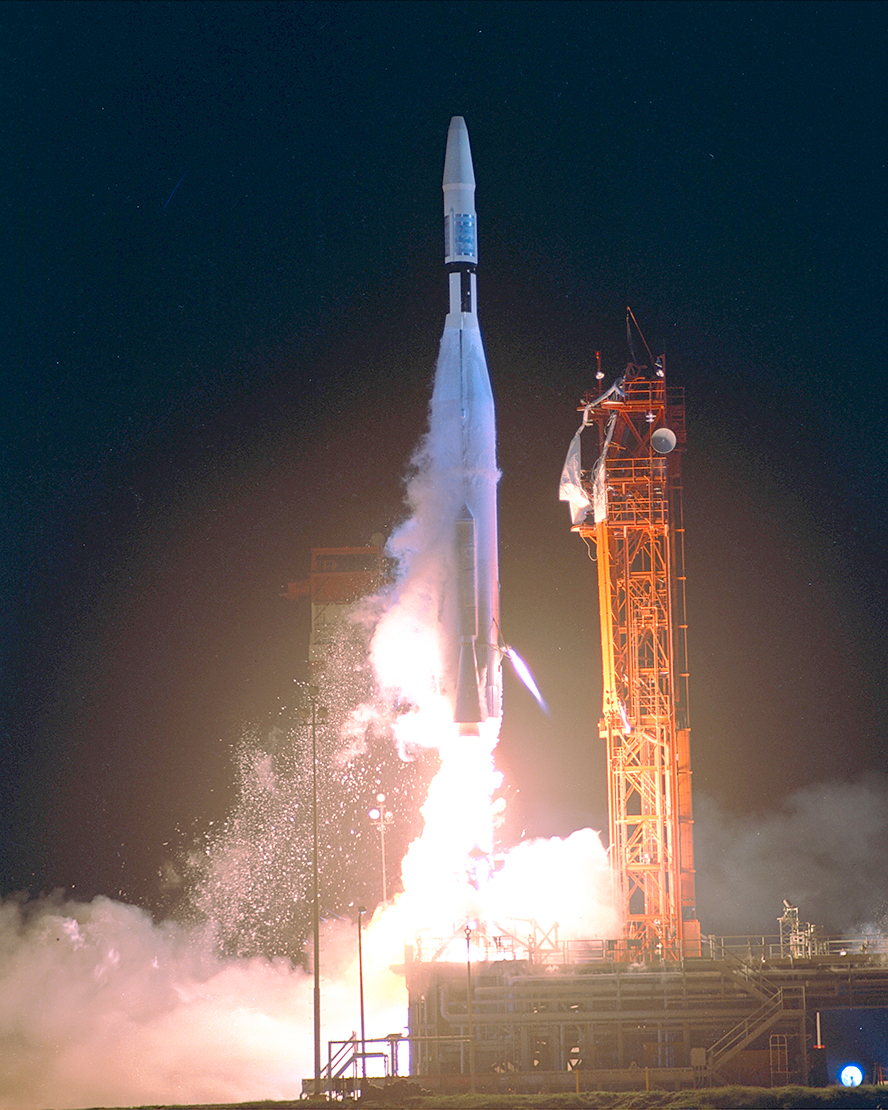 The rocket that carried the Mariner 1 spacecraft
