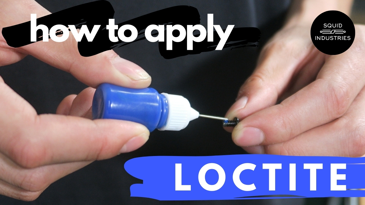 How To Apply Loctite - Balisong Maintenance Tips | Squid Industries