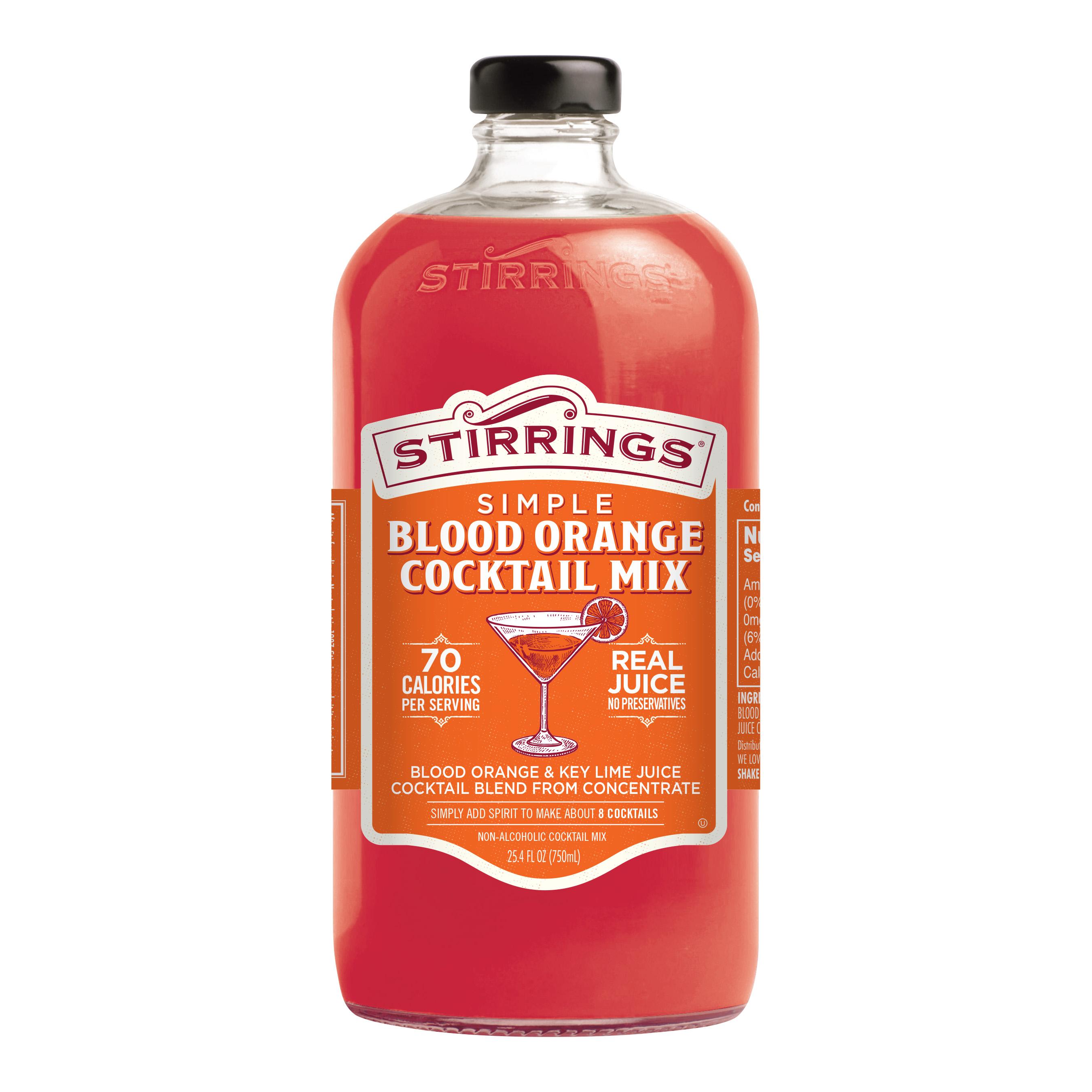 Blood Orange Cocktail Mix