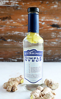 Ginger Infused Simple Syrup