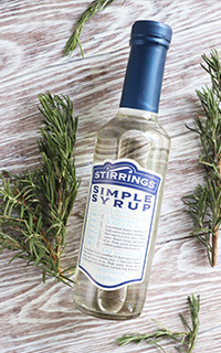 Rosemary Infused Simple Syrup