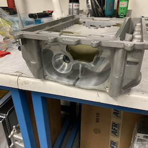 LS9 Ported Blower Case with Synergy Epoxy Boss Treatment