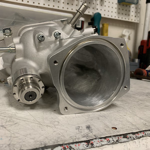 Lingenfelter LPE ZR1 LS9 Snout with Basic Competitor CNC Port