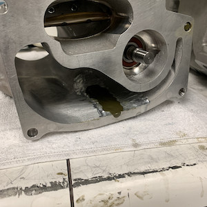 LS9 Ported Blower Case with Synergy Epoxy Prep Boss Treatment