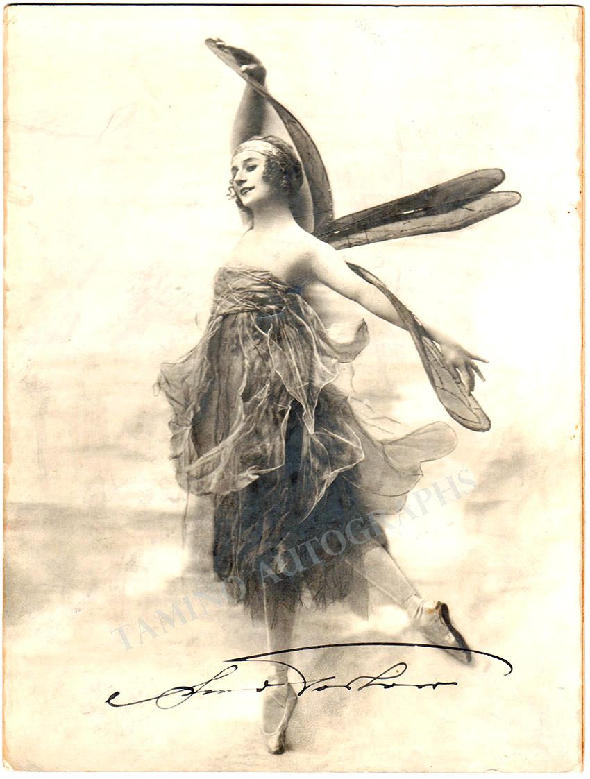 Pavlova, Anna - Large Signed Photo