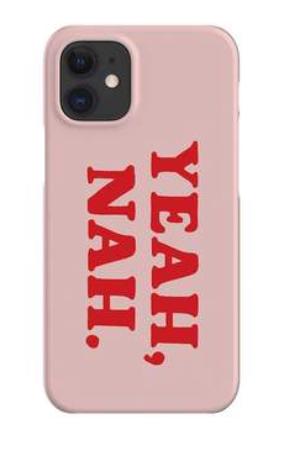YEAH NAH PHONE CASE