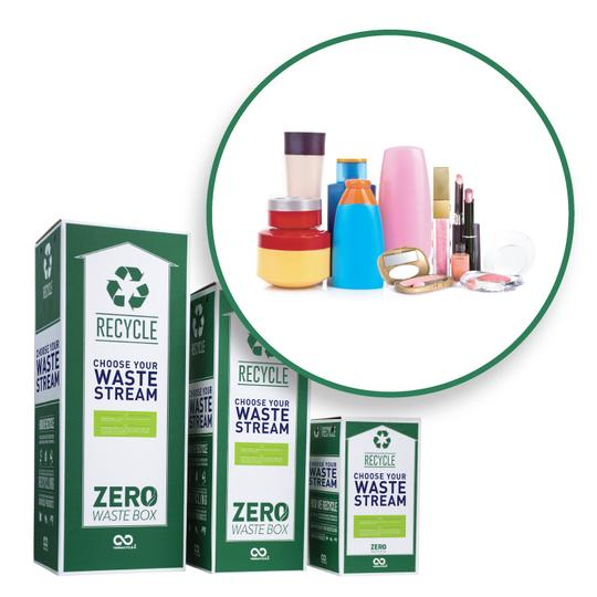 recycle beauty and products packaging with TerraCycle