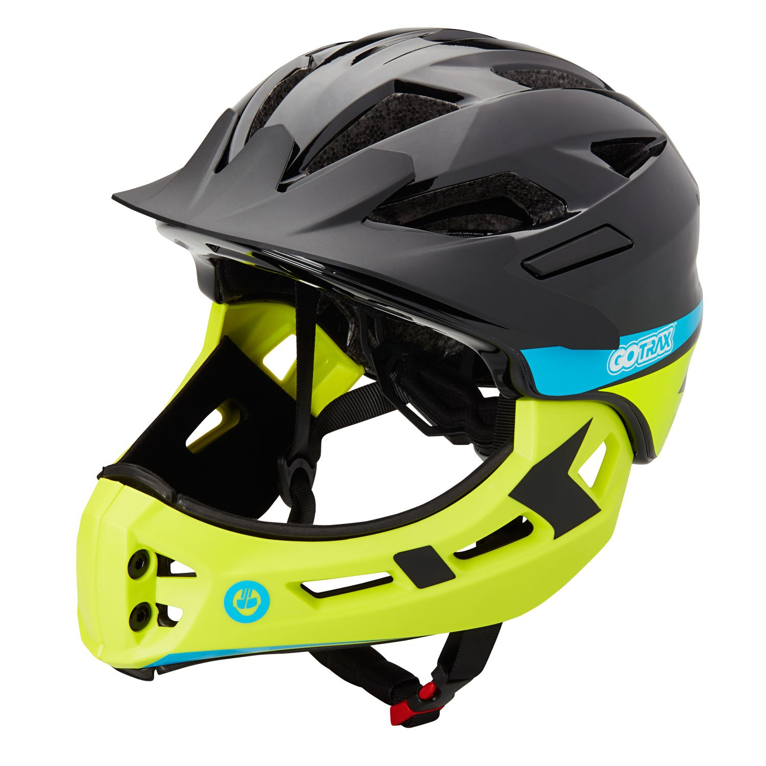 GOTRAX 2-IN1 FULL FACED HELMET