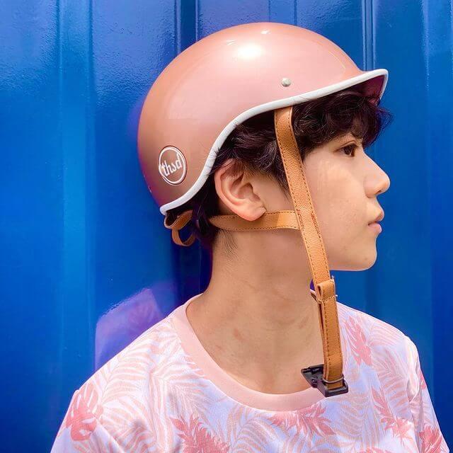Heritage Helmet in Rose Gold