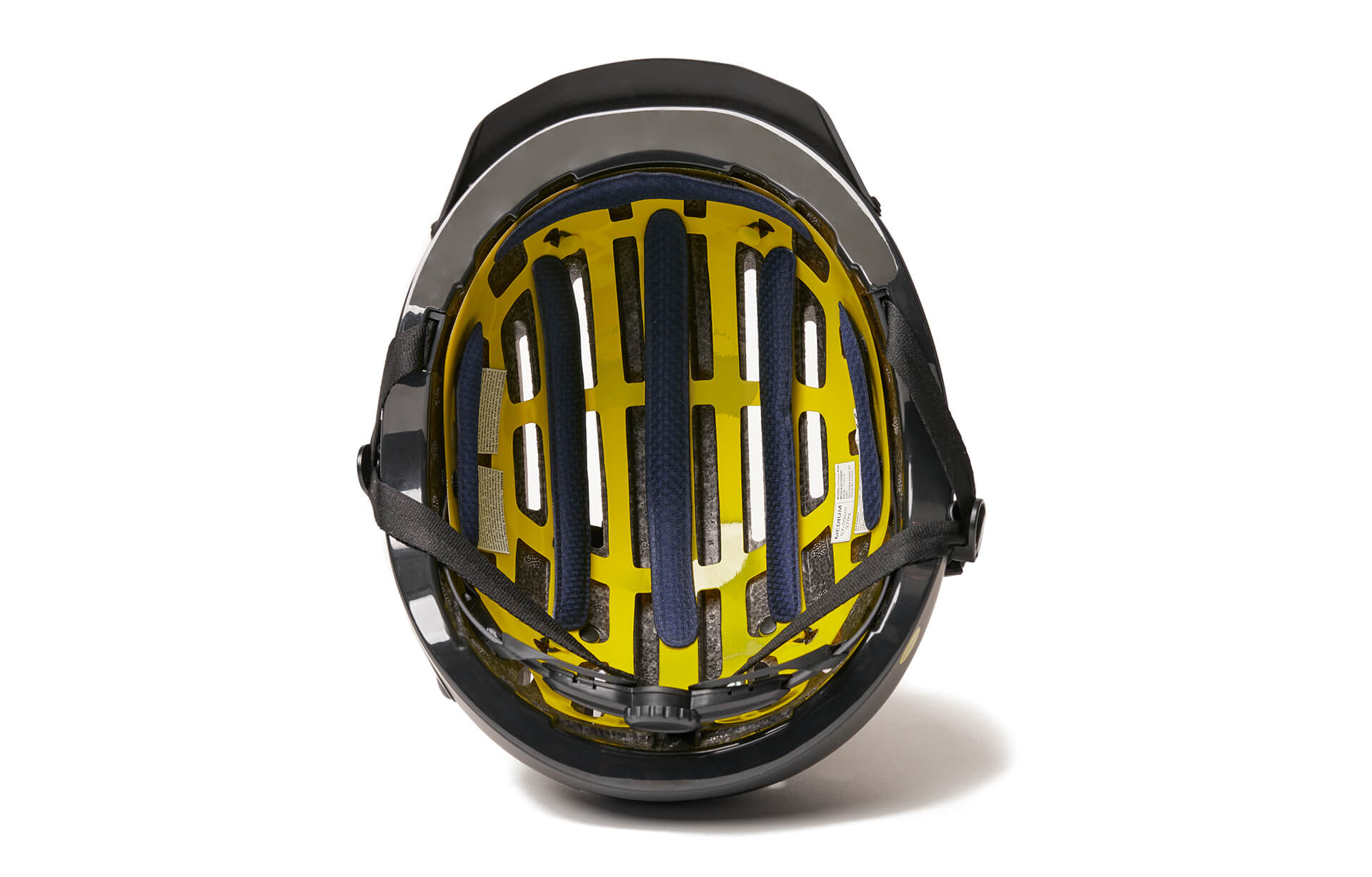 black mips bike helmet