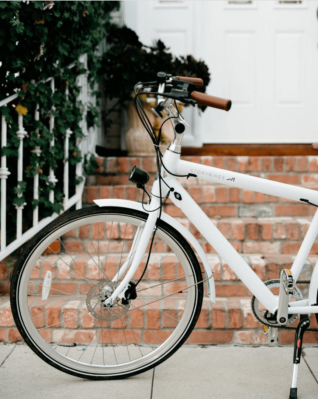White Story Bike