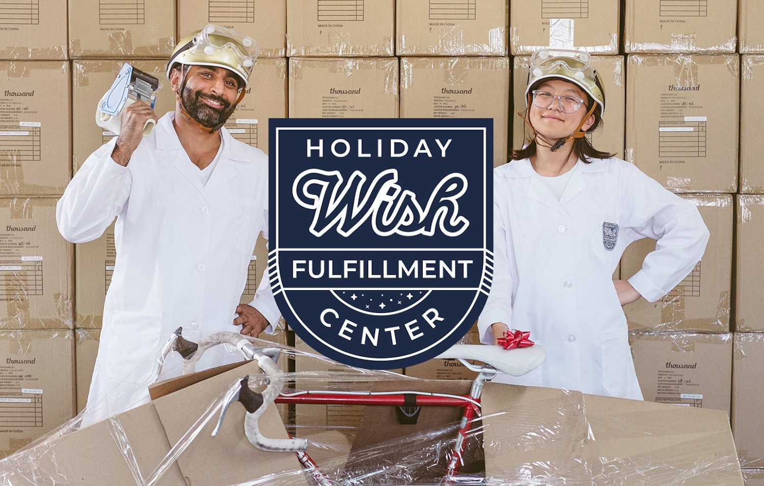 Thousand Holiday Wish Fulfillment Center