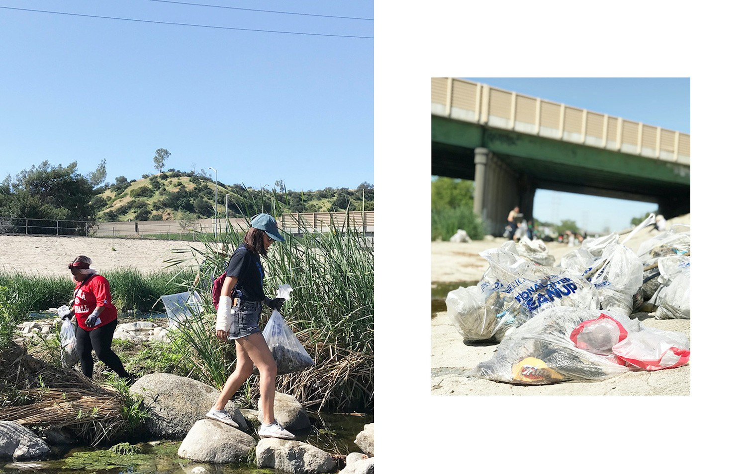 Earth Day LA River Clean up