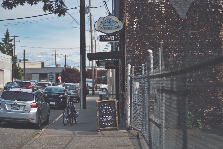 biking in Seattle